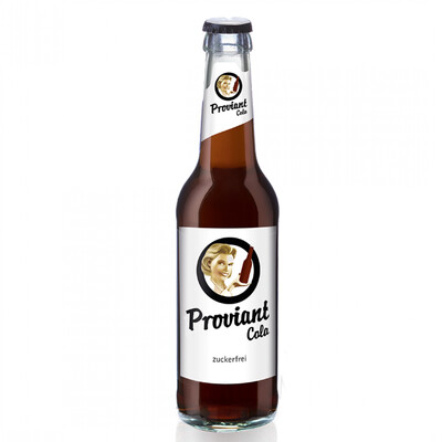 proviant cola / zuckerfrei