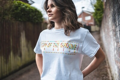 *LIMITED EDITION* Victim Of The Groove T Shirt (WHITE)