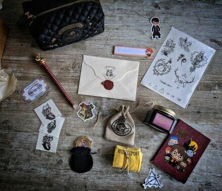 WIZARD BOX - box magie pour geek et fan d'harry potter