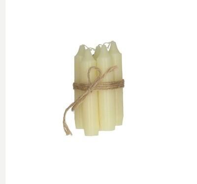 Bundle of candles (Cream)
