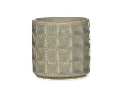 Thyme and Mint Ceramic Candle