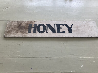 Old 'Honey' Sign