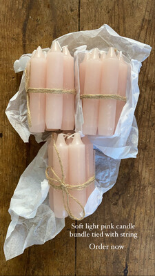 Bundle of candles (Pink)