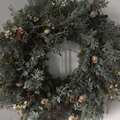 The Wild Willow 'Forager' Wreath Medium