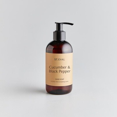 Cucumber & Black Pepper Liquid Hand Soap
