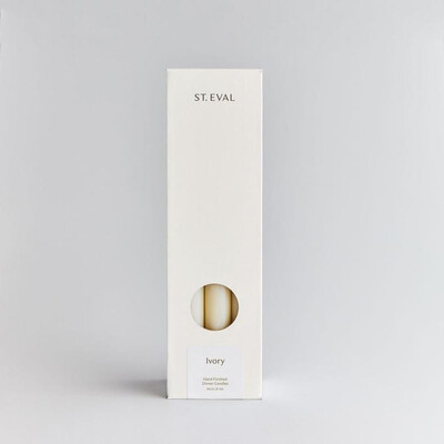 Ivory Dinner Candle Gift pack