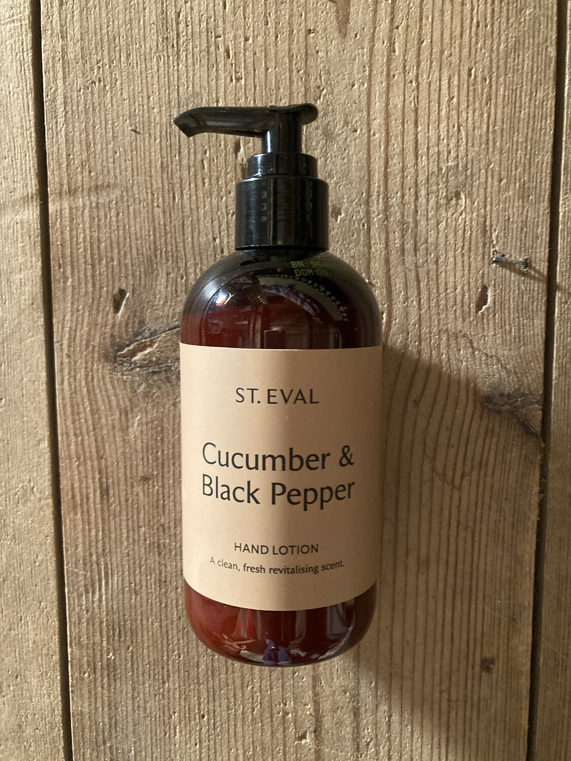 Cucumber & Black Pepper Hand Lotion