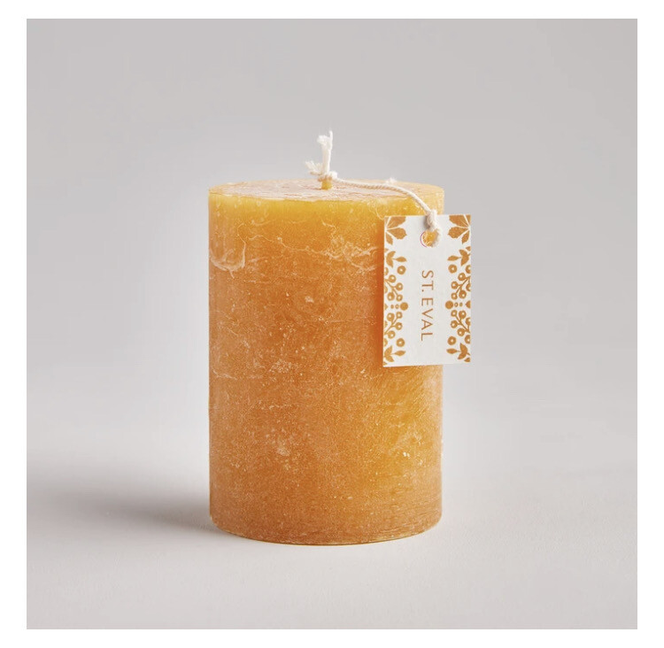 The Folk Candle in Amber