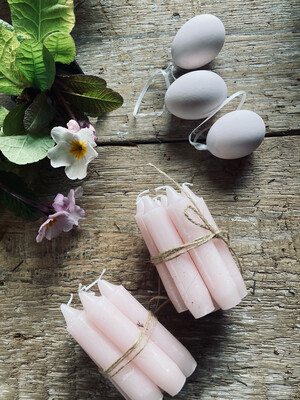 Bundle of candles (Pale pink)