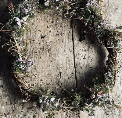 The Hop Spring Wreath