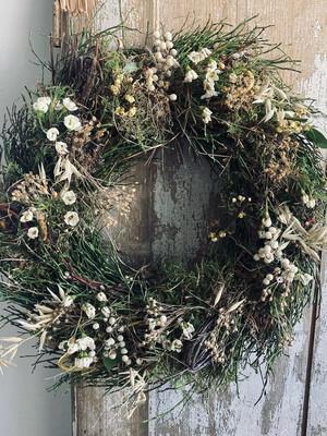 The Bay Tree & Moss Wreath
