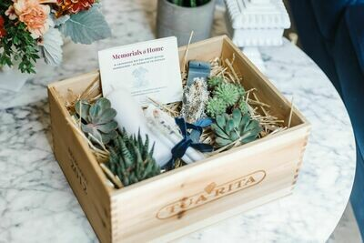 Memorials@Home Ceremony Kit with frankincense and incense holder