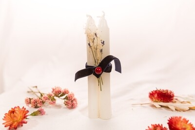 Memorial Candles [Memorial@Home Kit Add On, 4 included w kit]
