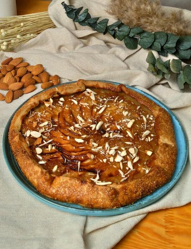 Galette obuolių pyragas