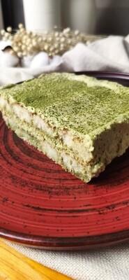 Žaliosios arbatos MATCHA tiramisu