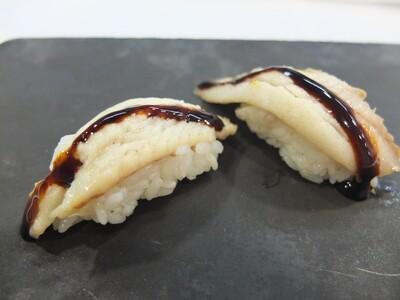 Nigiri Unagi- anguila flamejada (2 peces)