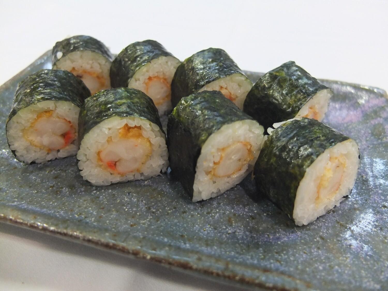Futomaki de Ebi-llagostí (8 peces)