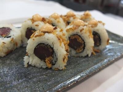 Uramaki Spicy Maguro-tonyina (8 peces)