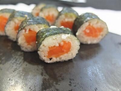 Hosomaki de salmó (8 peces)