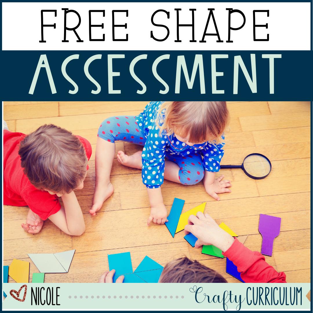 Third Grade Shape Assessment