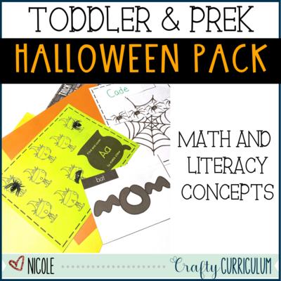 October & Halloween Math and Literacy Activities