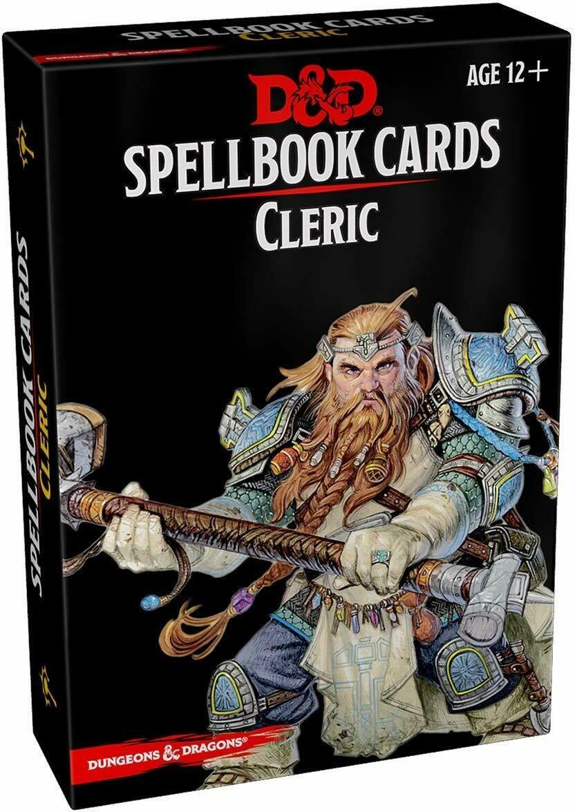 D&D Spellbook: Cleric