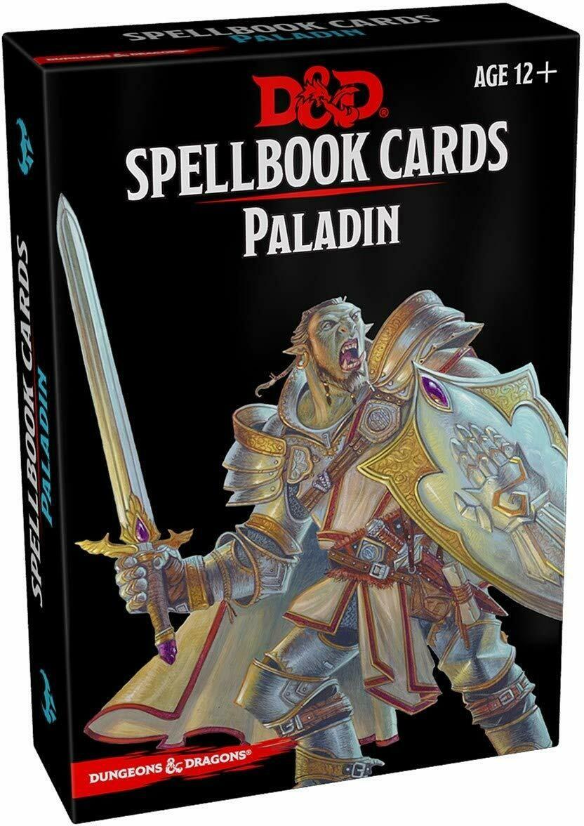D&D Spellcards Paladin