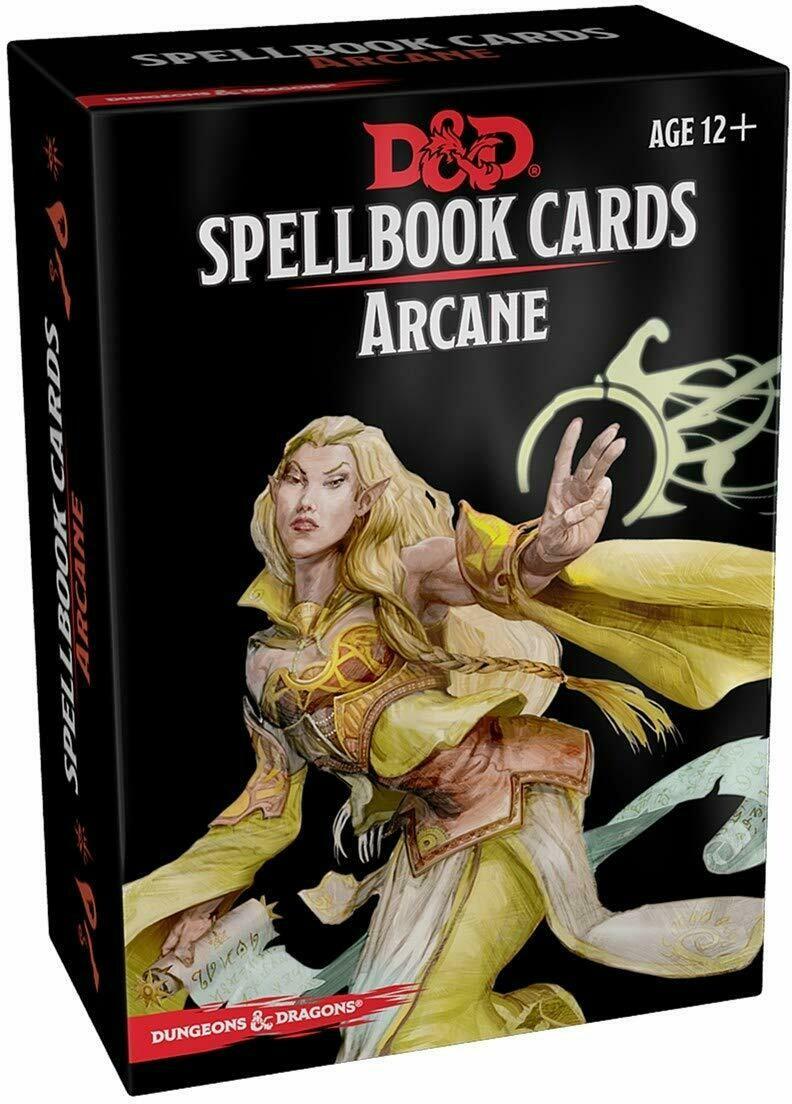 D&D Updated Spellbook Cards - Arcane