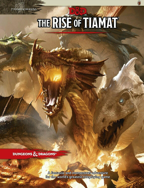 D&D Tyranny of Dragons: Rise Of Tiamat