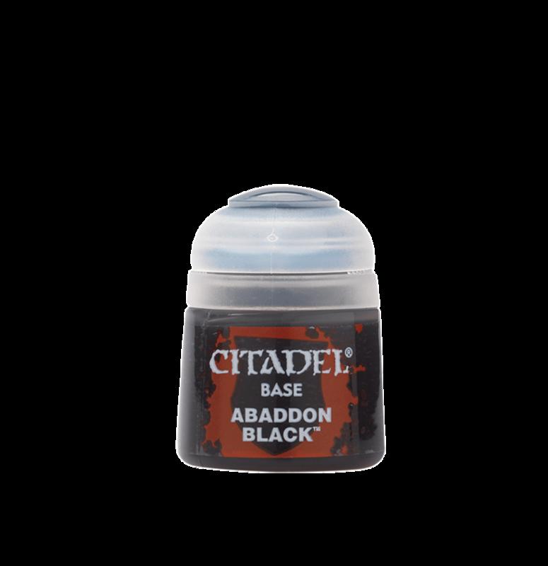 Abaddon Black Paint 12ml