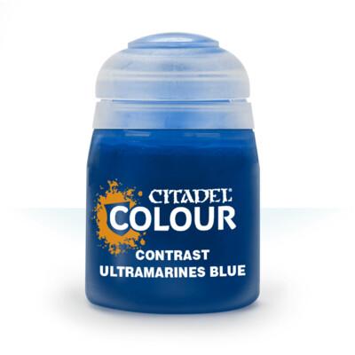 Contrast: Ultramarines Blue Paint