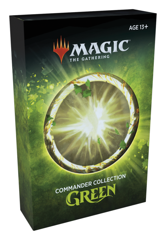 Commander Collection Green