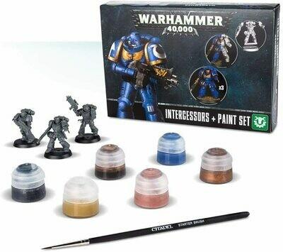 Warhammer 40K: Intergessors & Paint Set