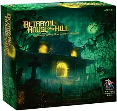 Betrayal At House On Haunted Hill