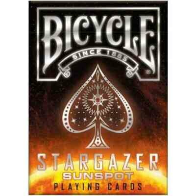 Bicycle Playing Cards Stargazer Sunspot