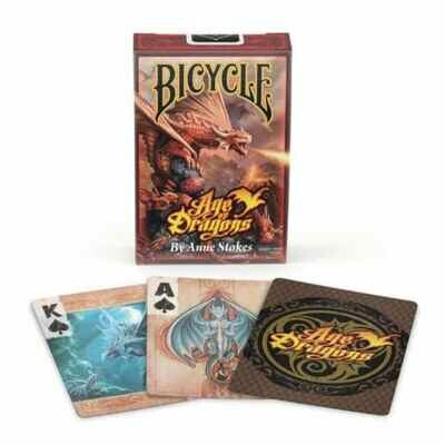 Bicycle Playing Cards Age Of Dragons