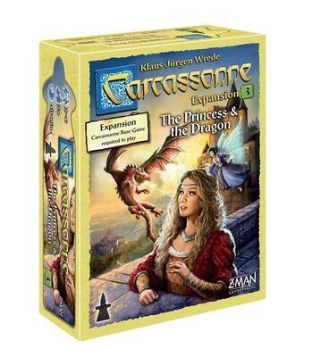Carcassonne: Princess & The Dragon Expansion