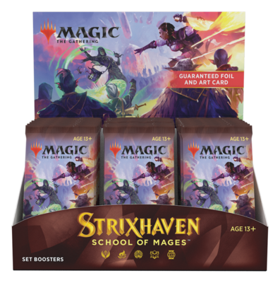 Strixhaven: School of Mages Set Booster Box
