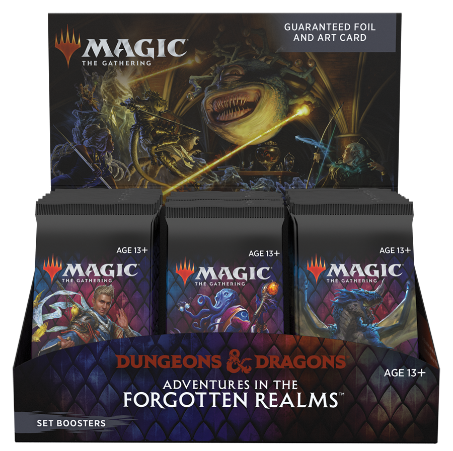 Adventures in the Forgotten Realms Set Booster Display - Buy A Box