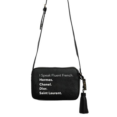 Fluent in French - Crossbody