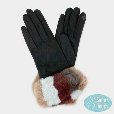 Suede Multi Color - Gloves