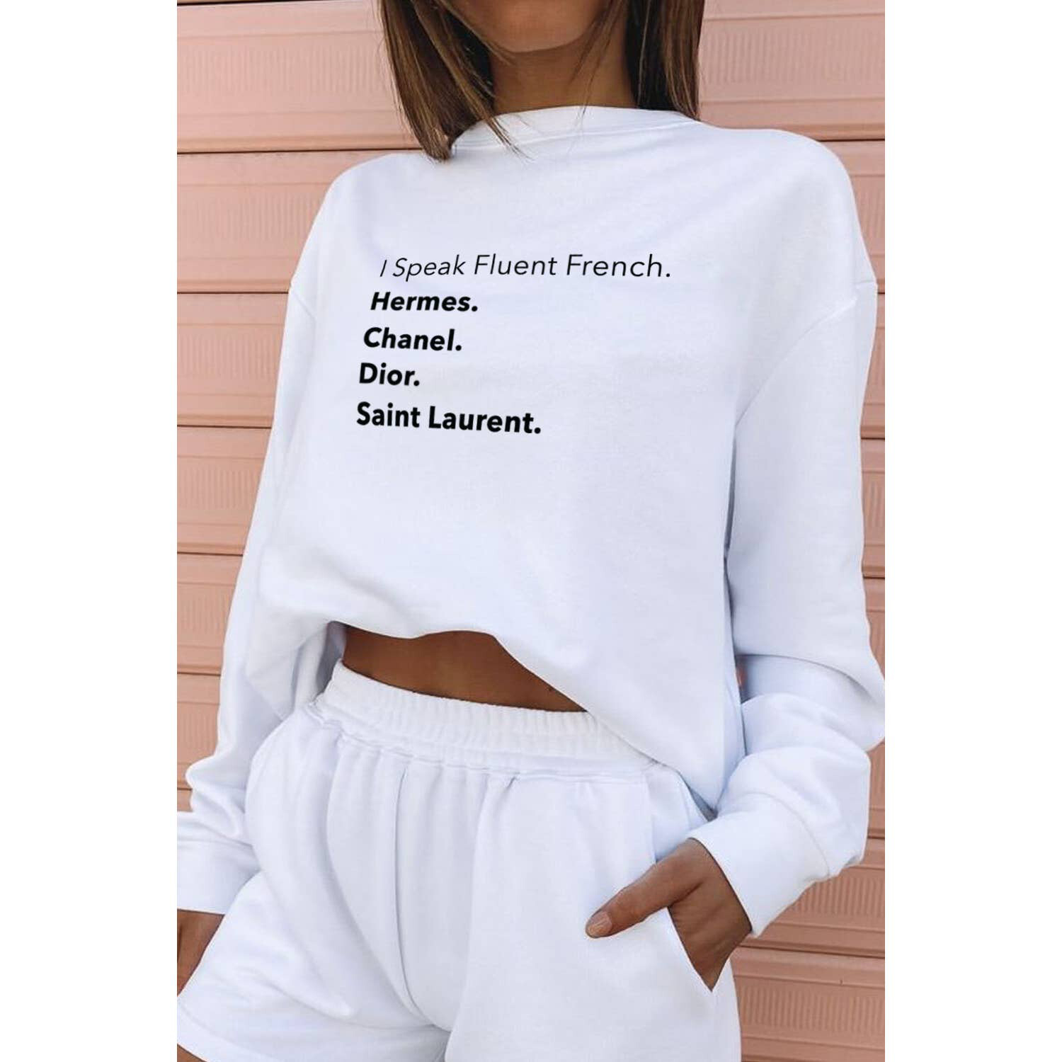 Fluent French Crewneck