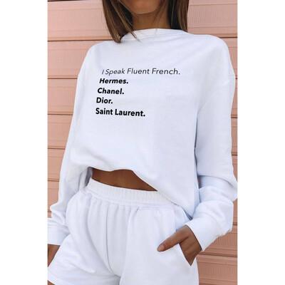Fluent French Crewneck