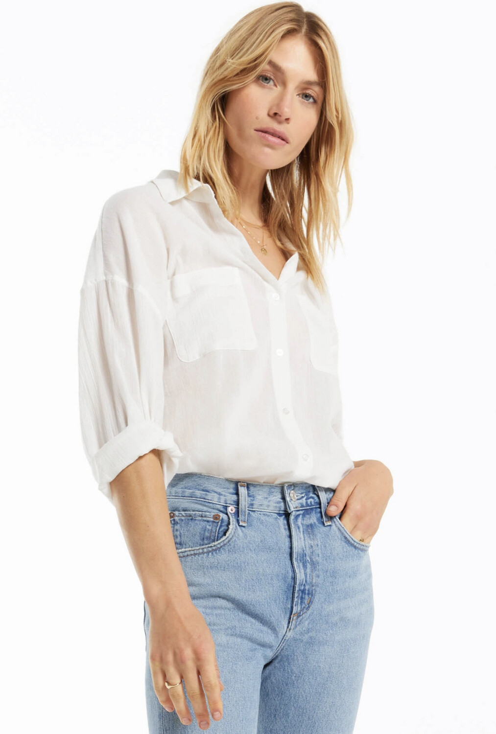 Lalo Button Up Top