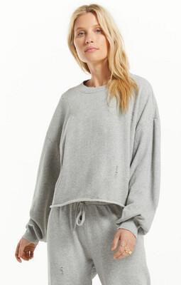 Allie Distressed Sweatshirt