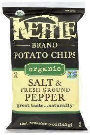 Organic Kettle Chips Salt & Pepper