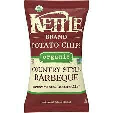 Organic Kettle Chips Country BBQ