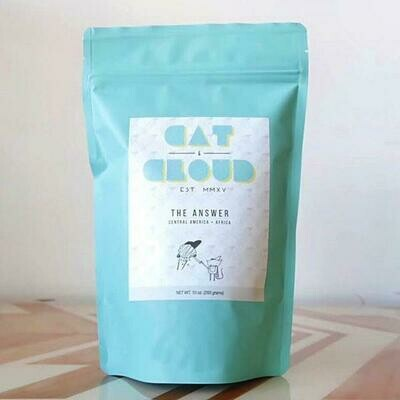 Cat & Cloud THE ANSWER Blend Ground Coffee