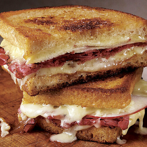 Kid's Grilled Cheese with Meat