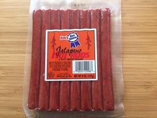 Jalapeno Hot Rods Sausage Sausage, 8 oz.